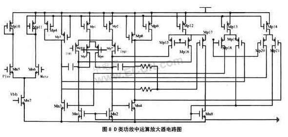 并且很好地实现了电阻电容及晶体管的匹配.