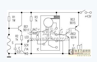 电路 电路图 电子 户型 户型图 平面图 原理图 405_259